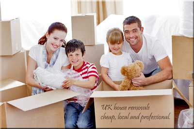 UK house removals and storage